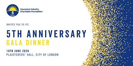 IICF UK 5th Anniversary Gala Dinner 2020 tickets