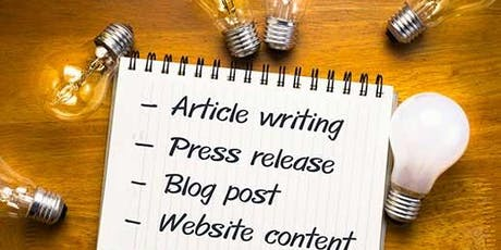 Writing Digital! Blog writing and words that sell tickets