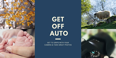 Get Off Auto on your Digital Camera tickets