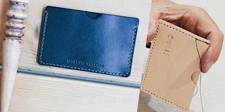 Leathercraft Workshop : Make Leather Card Holder (Taster's Class) tickets
