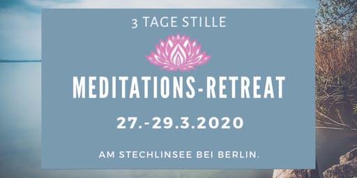 3 Tage Meditation - März 2020