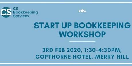Start Up Bookkeeping Workshop tickets