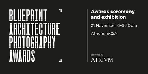 Blueprint Architecture Photography Awards 2019 In association with Atrium