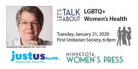 Minnesota Women's Press - Let's Talk About LGBTQ+ Women's Health tickets