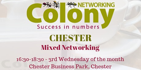 ONLINE: Colony Networking (Chester) - 20 May 2020 tickets
