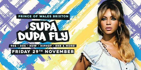 Supa Dupa Fly x Back to the Old Skool x Brixton tickets