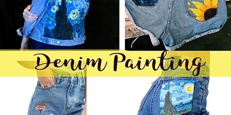 DENIM PAINTING ART WORKSHOP tickets