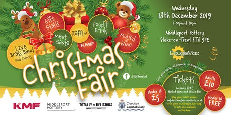 KMF Christmas Fair for Dougie Mac @ Middleport Pottery tickets