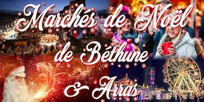 Marchés de Noël de Béthune & Arras -plus beaux du nord de France