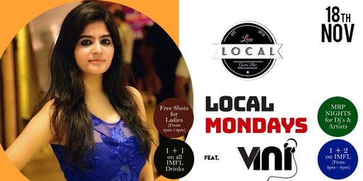 Local Mondays - DJ VINI