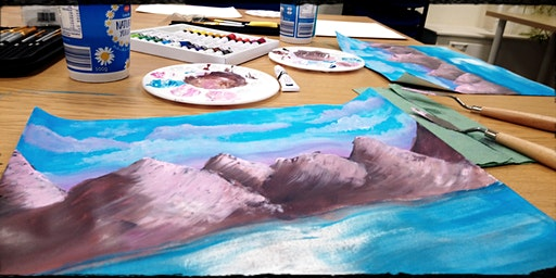 Calming and Relaxing Women's Painting Workshops