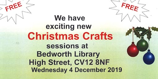 Christmas Crafts at Bedworth Library