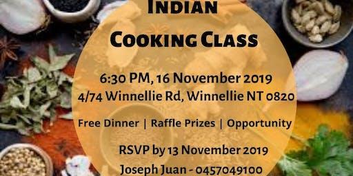 Saladmaster Indian Cooking Class