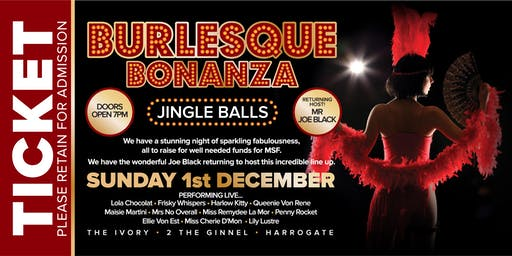 Burlesque Bonanza - Jingle Balls