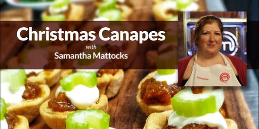Christmas Canape Cooking Demonstration
