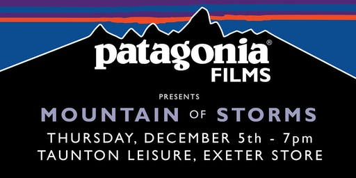 Patagonia 'Mountain Of Storms' Film Night