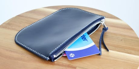 Leathercraft Workshop : Leather Coin Purse (Beginner's Class) tickets