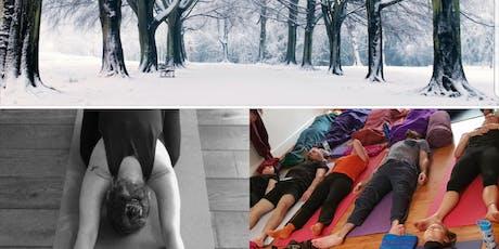 Winter Warmer - Vinyasa Flow into Restorative release Yoga Workshop tickets