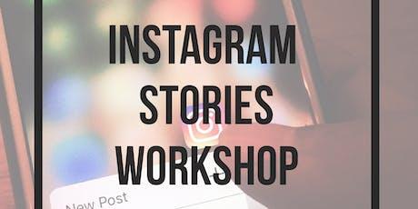Instagram Stories Workshop tickets