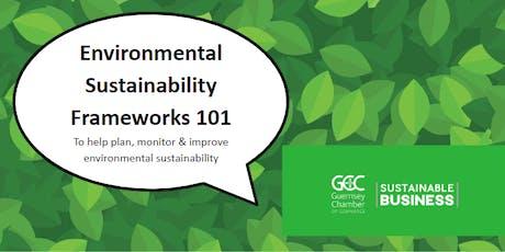 Environmental Sustainability Frameworks 101 tickets