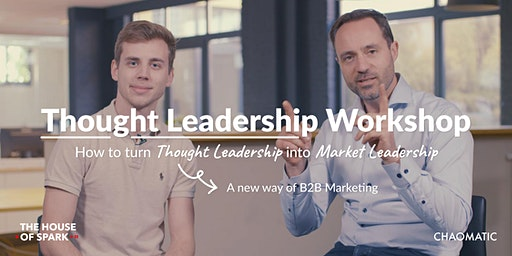 Thought leadership workshop