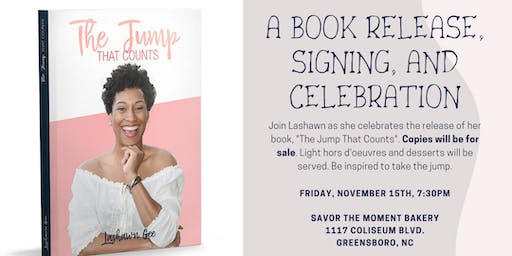 The Jump That Counts: A Book Release, Signing, and Celebration!