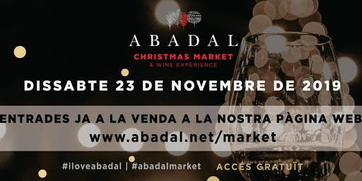 ABADAL CHRISTMAS MARKET & WINE EXPERIENCE