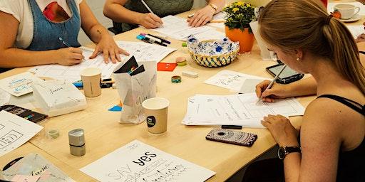 HandLettering Workshop Modul 2: Weiter lernen!