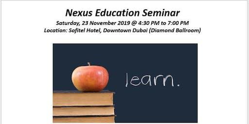Nexus Education Seminar - Nexus Group