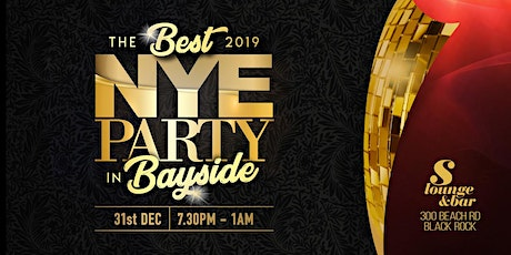 NYE at the S Lounge! tickets