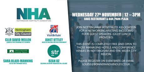 Nottingham Hospitality Association Networking Meeting tickets