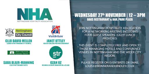 Nottingham Hospitality Association Networking Meeting