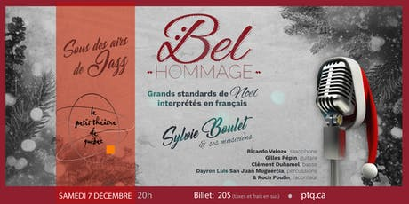 Bel Hommage- Grands standards de Noël  billets
