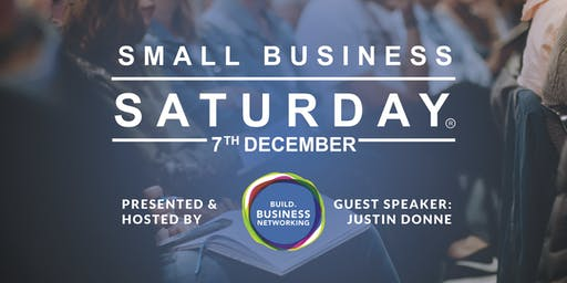 Small Business Saturday - Meet, Eat & Be Inspired!