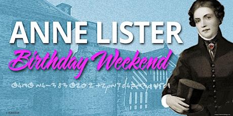 Anne Lister Birthday Weekend tickets