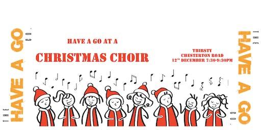 Have a Go at a Christmas Choir