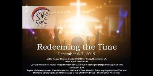 Redeeming the Time! - Prophetic Worship and Intercessory Lock In