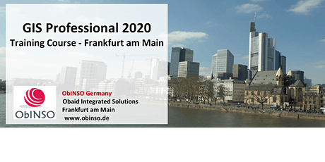 GIS Professional 2020 Training Course Tickets