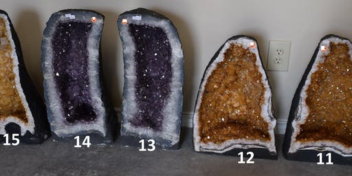 !!!Huge Gem Amethyst Rock Fossil Sale December 14, 15!!!