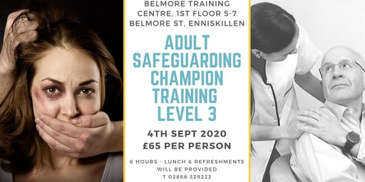 Adult Safeguarding Champion Training Level 3
