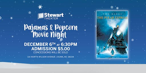 Pajamas and Popcorn: The Polar Express