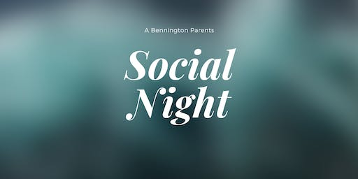 Bennington Heights Parent Social