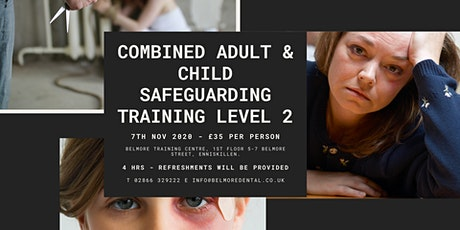 Combined Adult and Child Safeguarding Training Level 2 billets