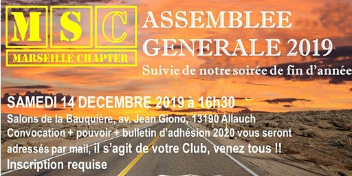 Assemblée Générale Marseille Chapter