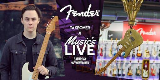 Fender Takeover at PMT Birmingham