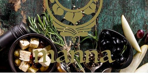 Vegan Shared Dinner Afroditisch Grieks