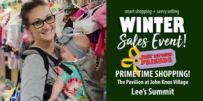 Just Between Friends Lee's Summit Winter 2019 - Prime Time Shopping!