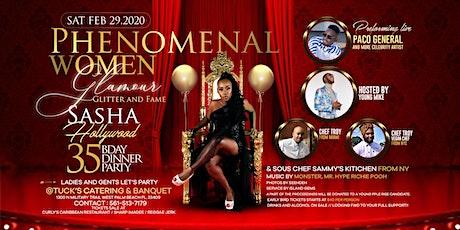 Sasha Hollywood 35th bday party tickets