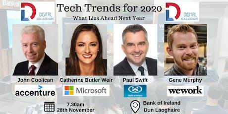 November Meetup  - Tech Trends for 2020 tickets