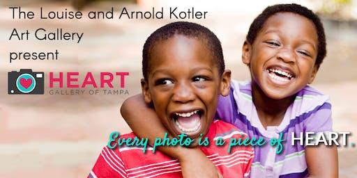 Kotler Art Gallery Reception: Heart Gallery of Tampa